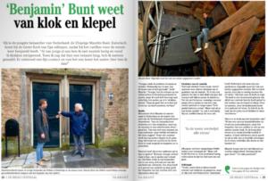artikel in Veluwe Actief krant